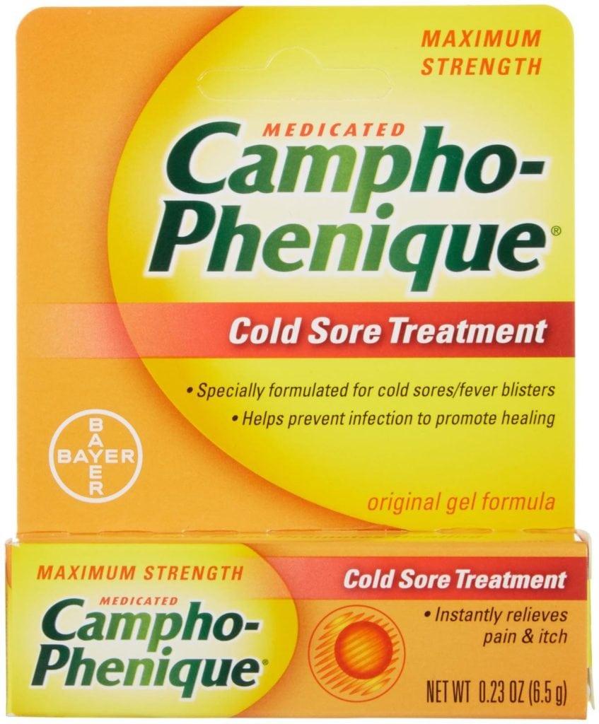 camphor phenique for cold sores reviews