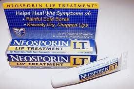 neosporin on cold sore