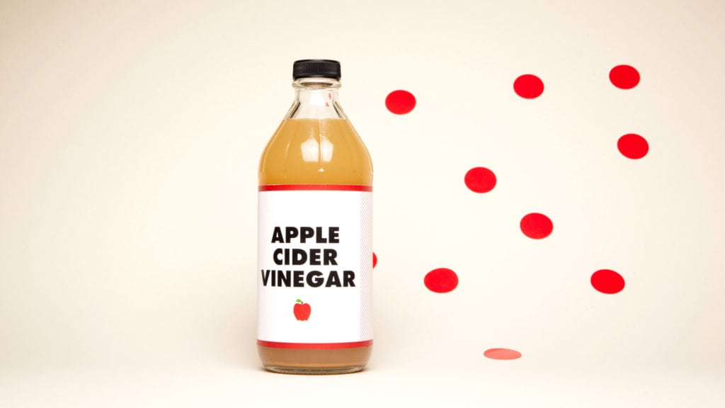 apple cider vinegar for cold sores