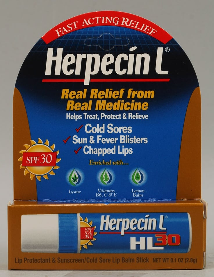 herpecin l reviews for cold sores