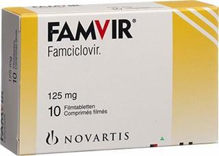 famciclovir for cold sores